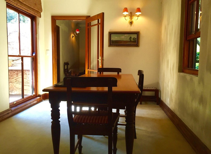 Dining area, Jessie's Cottage